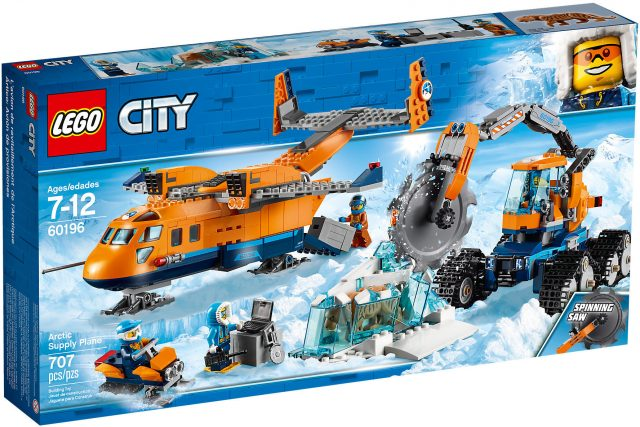 LEGO City 60196 - Aereo Merci Artico