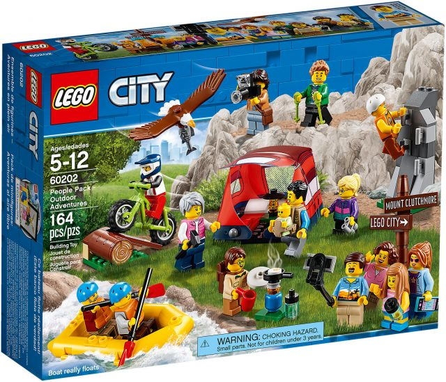 LEGO City 60202 - People Pack Avventure All'aria Aperta
