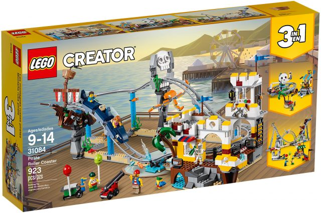 LEGO Creator 31084 - Montagne Russe Dei Pirati