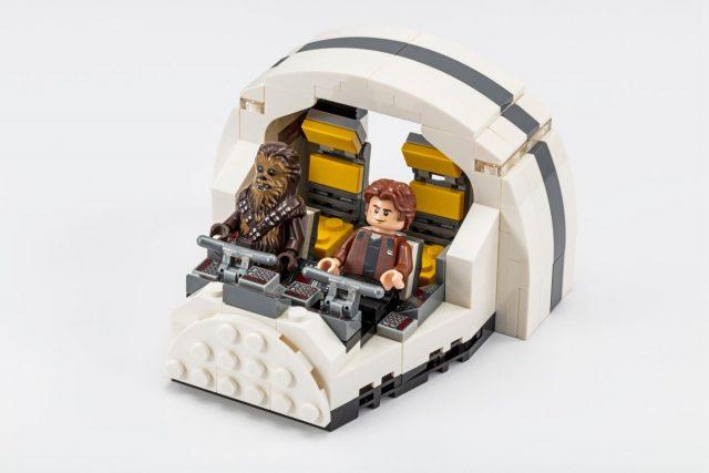 LEGO Star Wars SDCC 2018 Millennium Falcon Cockpit (75512)