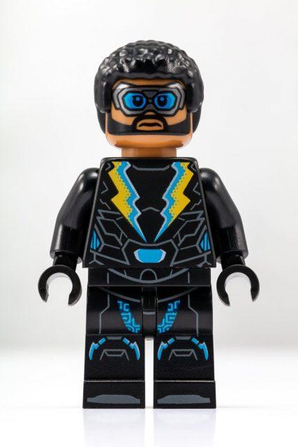 Black Lightning Minifigure