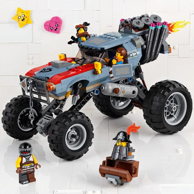 Emmet and Lucy's Escape Buggy