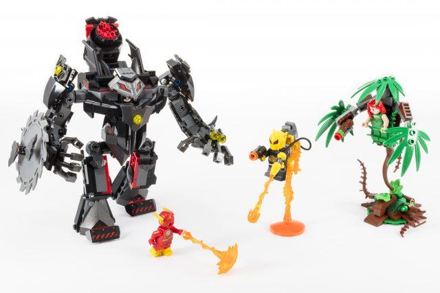 LEGO DC Comics Super Heroes Batman Mech vs Poison Ivy Mech