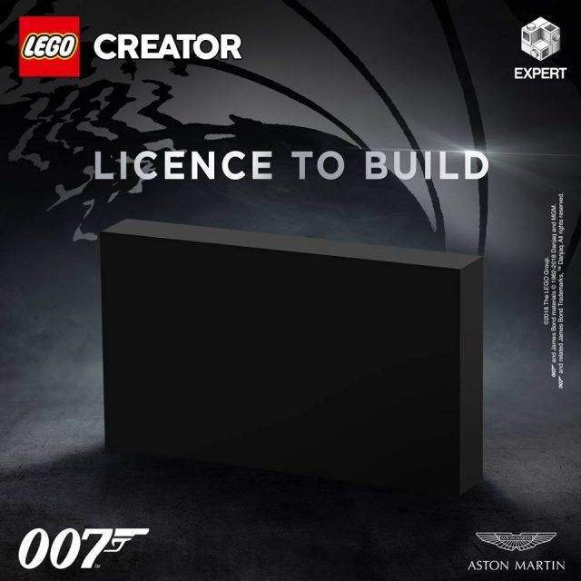 LEGO James Bond teaser