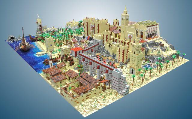 LEGO MOC Vichinghi 2