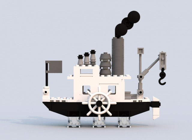 LEGO Steamboat Willie 2