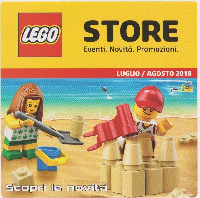 Promozioni LEGO Store Italia Luglio Agosto 2018
