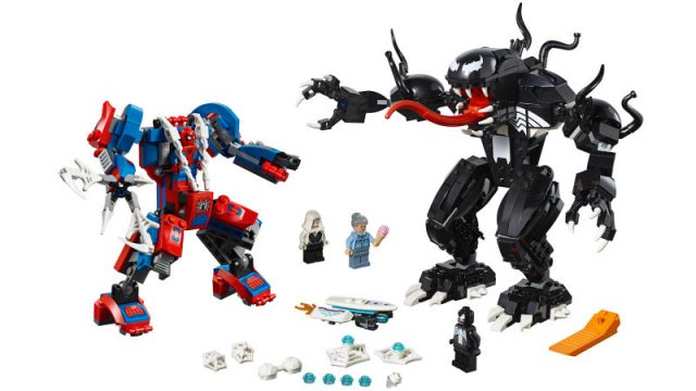 LEGO Marvel Super Heroes Spider-Man Mech vs Venom Mech (76115)