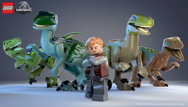 The LEGO Movie 2 Velociraptors