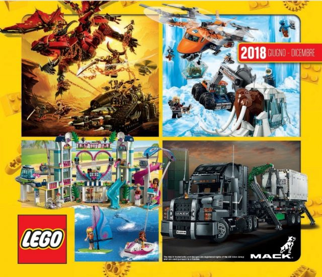 Catalogo LEGO 2018 Giugno Dicembre