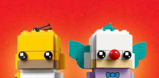 LEGO BrickHeadz The Simpsons Homer & Krusty the Clown (41632)