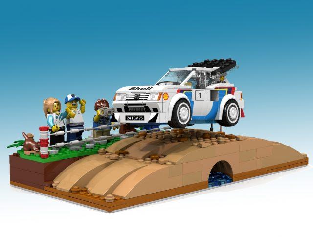 LEGO Ideas Peugeot 205