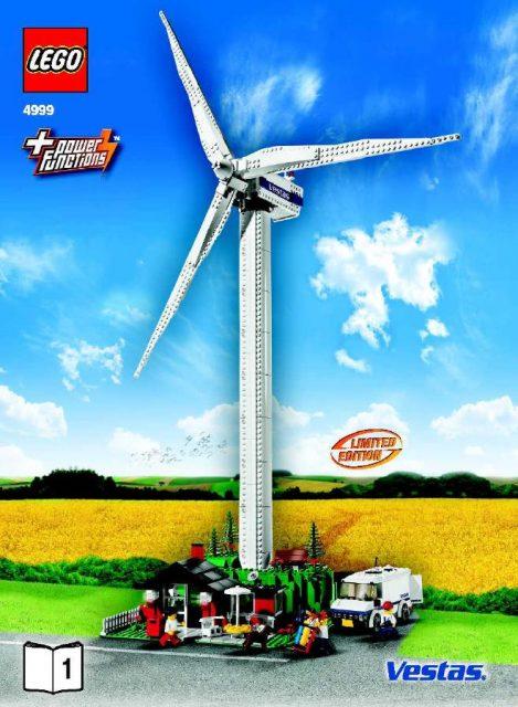LEGO Vesta Wind Turbine 4999