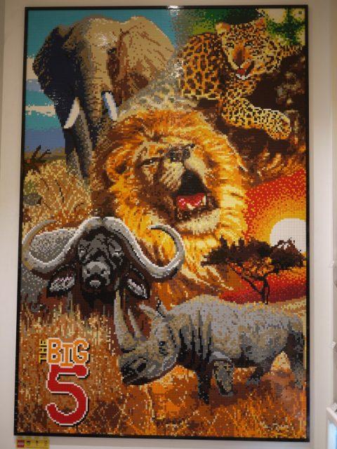 LEGO Store sudafrica mosaico