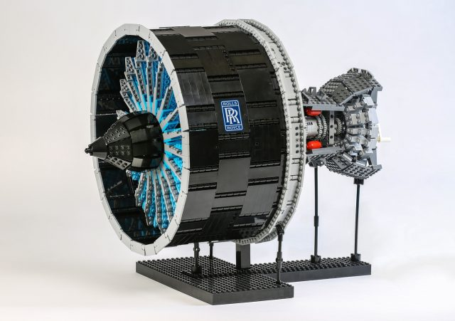 LEGO Ideas Rolls-Royce UltraFan - The Ultimate Jet Engine