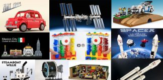 Ecco i 10 Progetti LEGO Ideas Qualificati per la Seconda Fase di Revisione 2018