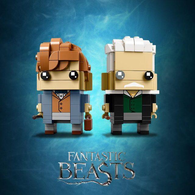 LEGO BrickHeadz Newt Scamander & Gellert Grindelwald (41631)