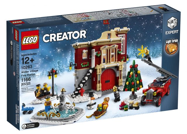 LEGO Creator Expert Winter Village Fire Station (10263)