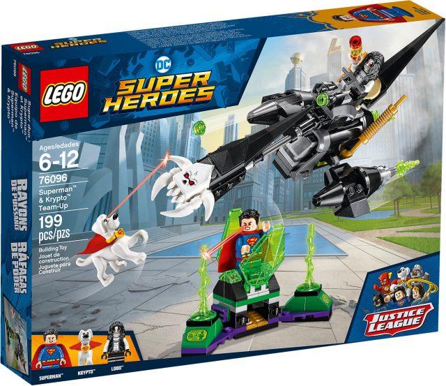 LEGO DC Comics Super Heroes 76096 - L'alleanza Tra Superman E Krypto scatola
