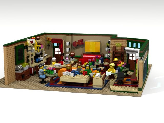 LEGO Ideas Central Perk Coffee of Friends