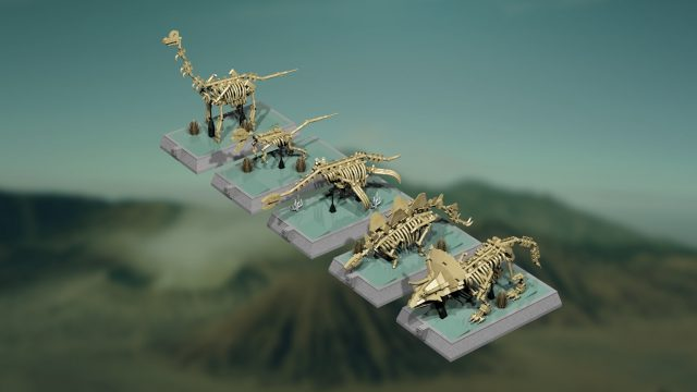 LEGO Ideas Dinosaurs Fossils Skeletons - Natural History Collection