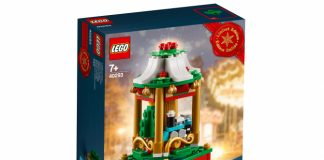 LEGO Stagionale Christmas Carousel (40293)