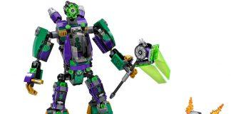 LEGO DC Comics Super Heroes 76097 - Duello Robotico Con Lex Luthor