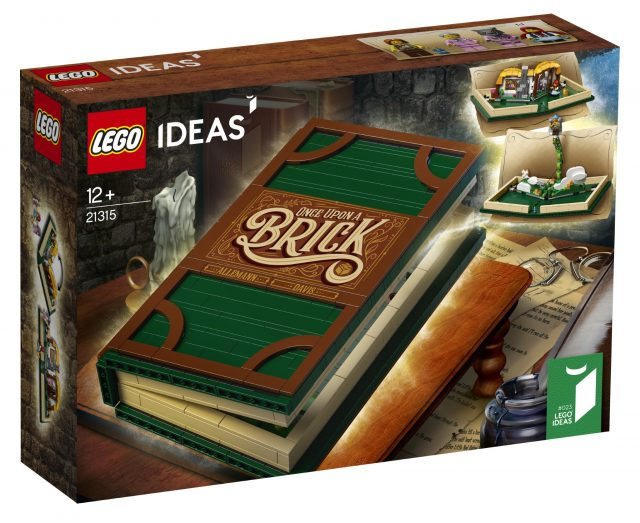 LEGO Ideas 21315 Pop Up Book Scatola