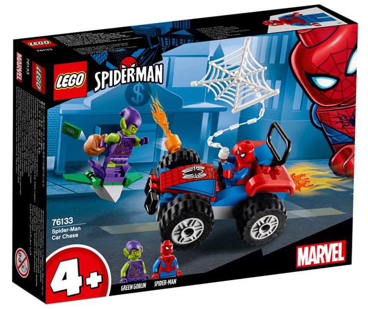 LEGO Juniors Spider-Man Car Chase (76133)