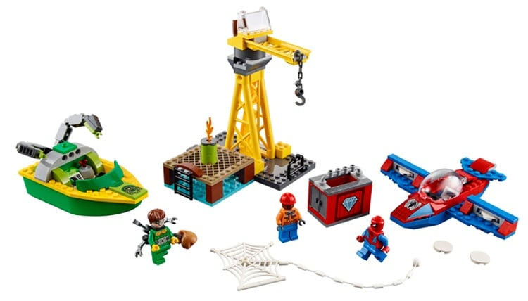 LEGO Juniors Spider-Man- Doc Ock Diamond Heist (76134)