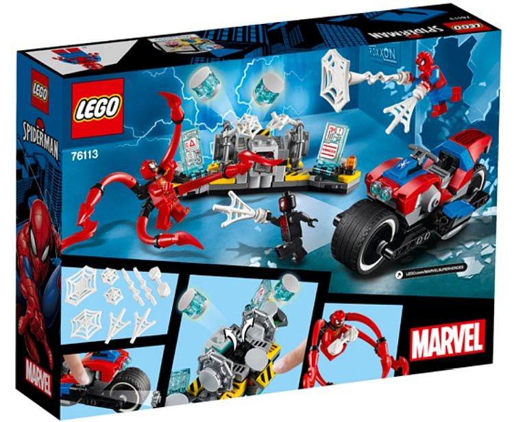 LEGO Marvel Super Heroes Spider-Man Bike Rescue (76113)