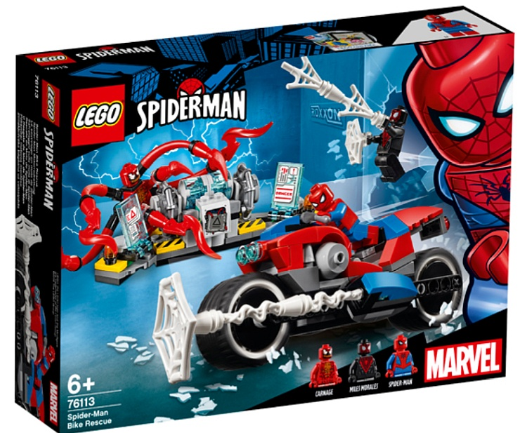 Spider-Man Bike Rescue (76113)