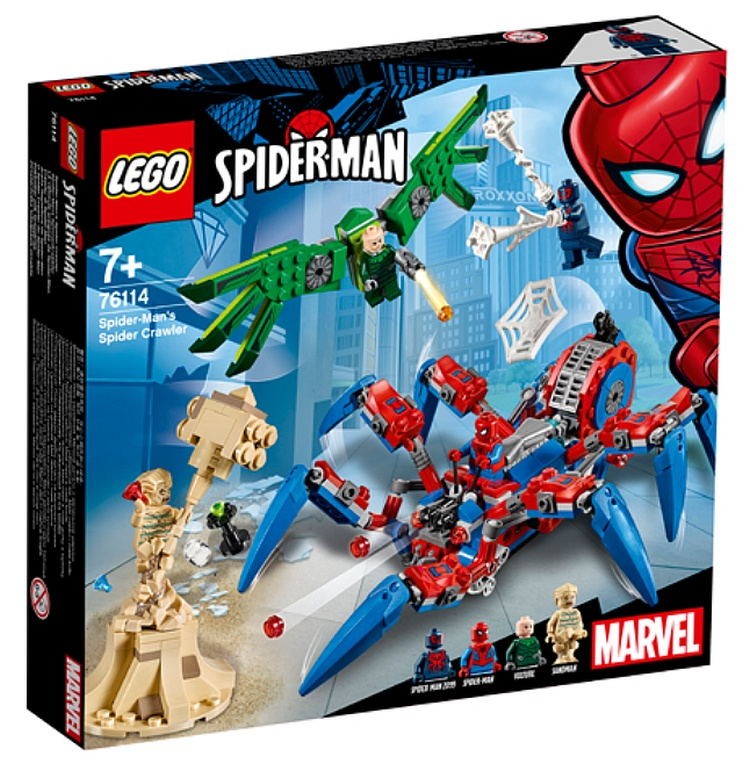 LEGO Marvel Super Heroes Spider-Man's Spider Crawler (76114)