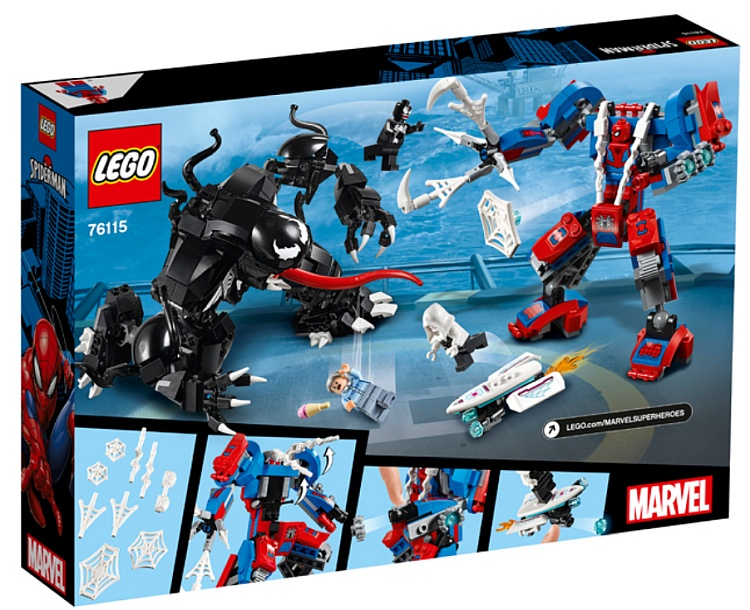LEGO Marvel Super Heroes Spider Mech vs. Venom (76115)