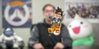 LEGO Overwatch Minifigura di Tracer