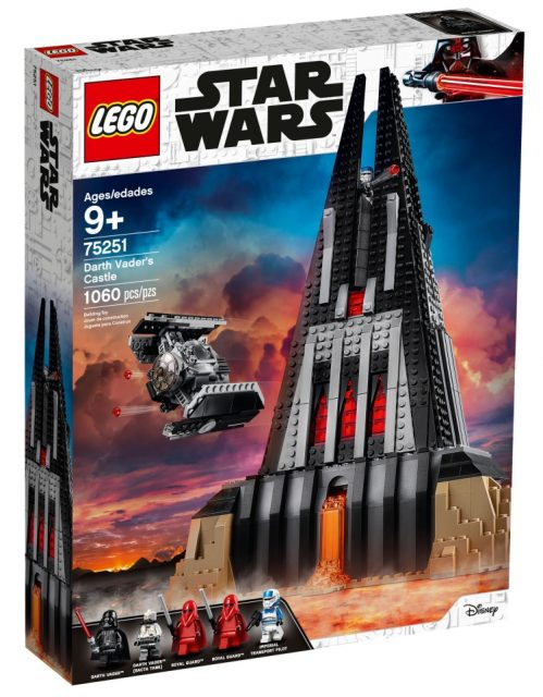 LEGO Star Wars Il castello di Darth Vader 75251