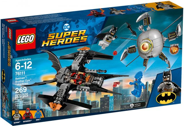 LEGO DC Comics Super Heroes 76111 - Batman: Scontro Con Brother Eye scatola