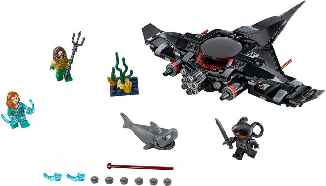 LEGO DC Super Heroes 76095 - Aquaman: L'attacco Di Black Manta