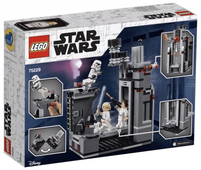 LEGO Star Wars 75229 - Fuga Dalla Death Star