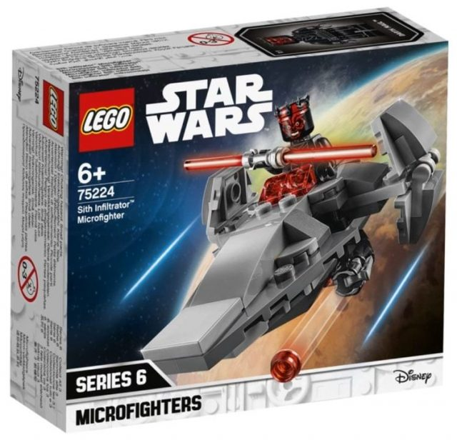 LEGO Star Wars 75224 - Microfighter Sith Infiltrator