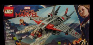 LEGO Marvel Captain Marvel and the Skrull Attack (76127)