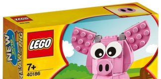 LEGO 2019 Year of the Pig (40186)