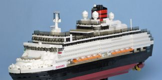 LEGO Ideas Queen Victoria Cruise Ship