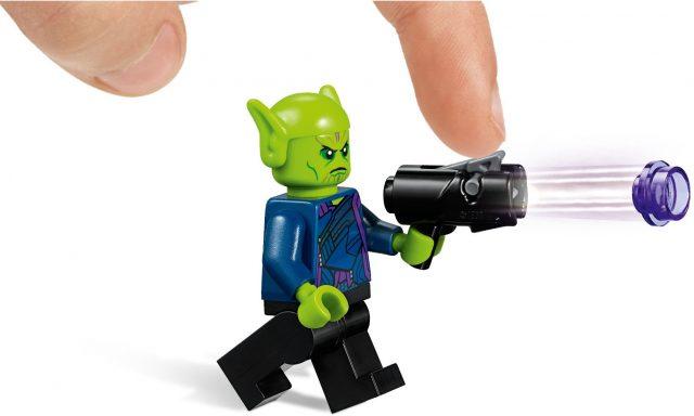 LEGO Marvel Super Heroes Captain Marvel e l'attacco dello Skrull (76127)