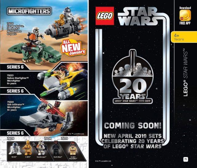 I set LEGO Star Wars del 20° Anniversario Arriveranno ad Aprile