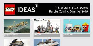 Progetti LEGO Ideas Qualificati per la Terza Fase di Revisione 2018