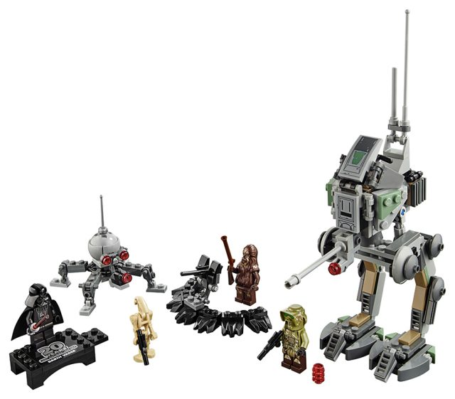 Clone Scout Walker – 20th Anniversary Edition (75261)