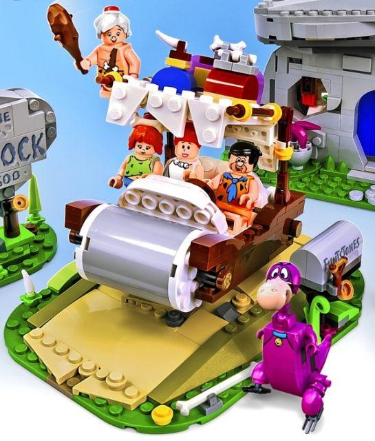 L'automobile dei Flintstones nel progetto LEGO Ideas originale