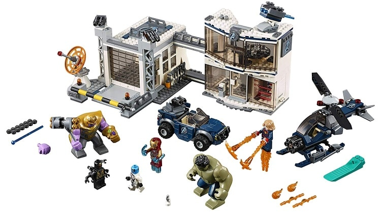 LEGO Marvel Super Heroes Avengers- Endgame Avengers Compound Battle (76131)