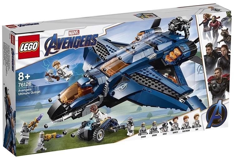 LEGO Marvel Super Heroes Avengers- Endgame Avengers Ultimate Quinjet (76126)